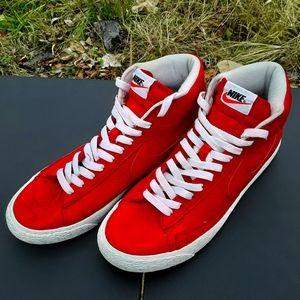 Nike Blazer Hightops Size 10 Mens